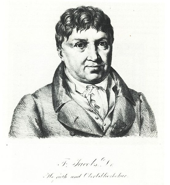 Philologe Friedrich Jacobs