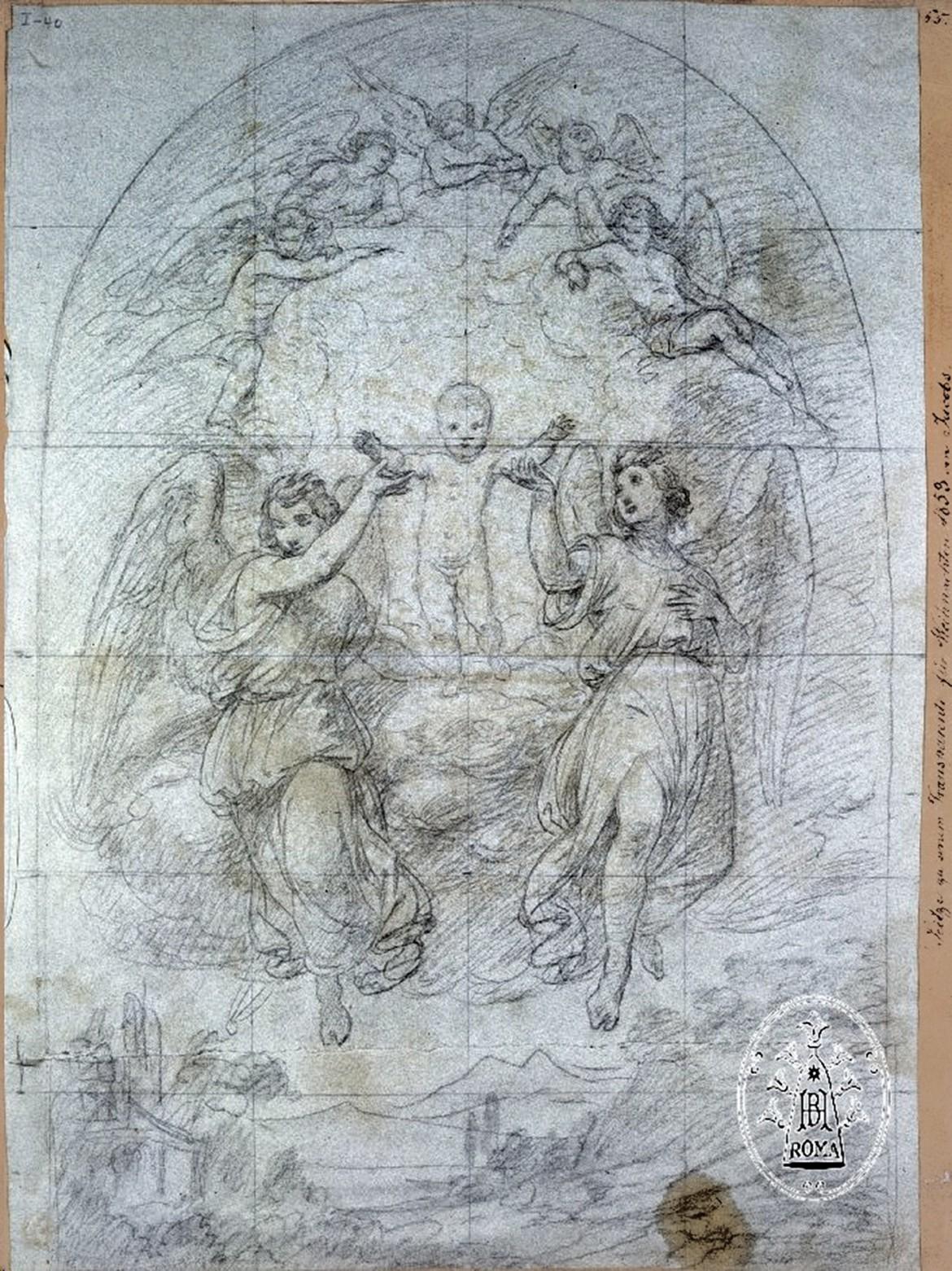 Zeichnung_E.Jacobs_Weihnachten-1859