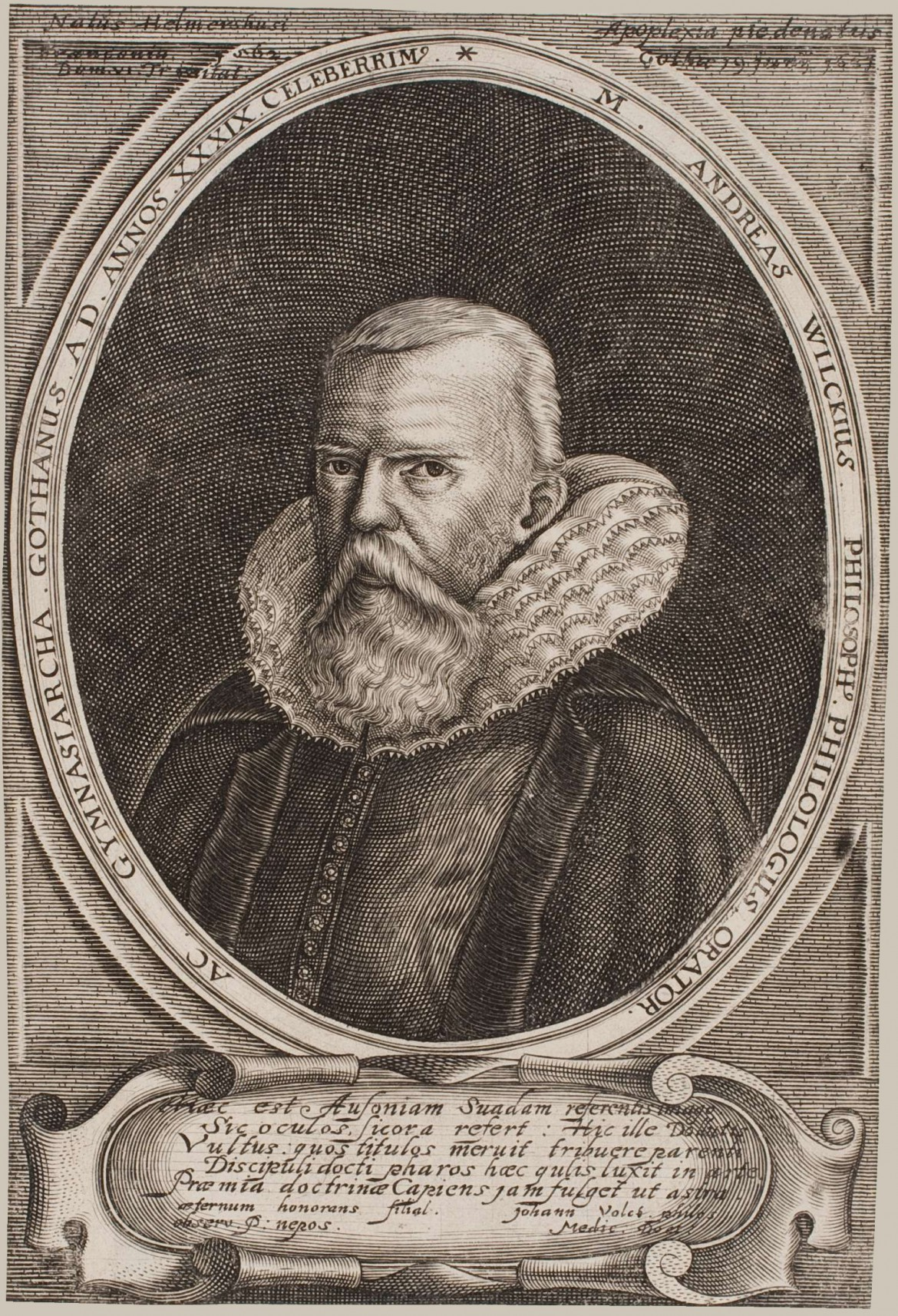 Magister Andreas Wilke 1562-1631